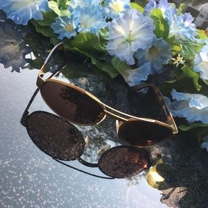 FENDI Sunglasses  - Gold Frames